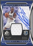 2004/05 SP Game Used #AJ Antawn Jamison Authentic Fabrics Jersey Auto #004/100