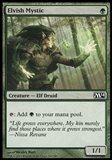 Magic the Gathering 2014 Single Elvish Mystic FOIL - NEAR MINT (NM)