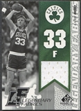 2003/04 SP Game Used #LBL Larry Bird Legendary Fabrics Jersey