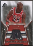 2007/08 SP Game Used #AFMJ Michael Jordan Authentic Fabrics Jersey