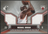 2005/06 SPx #MJ Michael Jordan Winning Materials Jersey