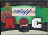 2006/07 Topps Triple Threads #114 Thabo Sefolosha Emerald Rookie Patch Auto #01/50
