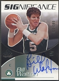 2003/04 SP Game Used #BW Bill Walton SIGnificance Auto #011/100