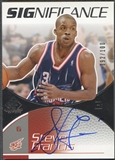 2003/04 SP Game Used #SF Steve Francis SIGnificance Auto #092/100