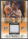 2003/04 SP Game Used #DRR David Robinson Authentic Patch #092/100