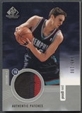 2004/05 SP Game Used #PG Pau Gasol Authentic Patch #049/100