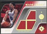2004/05 Ultimate Collection #JE Julius Erving Game Jerseys Limited Extra Jersey #15/25