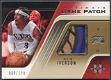2004/05 Ultimate Collection #AI Allen Iverson Game Patch #089/100