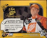 2002 Press Pass Premium Racing Hobby Box