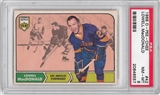 1968/69 O-Pee-Chee Hockey #42 Lowell MacDonald PSA 8 (NM-MT) *6557