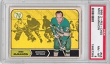 1968/69 O-Pee-Chee Hockey #46 Mike McMahon PSA 8 (NM-MT) *7369