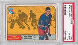 1968/69 O-Pee-Chee Hockey #72 Rod Gilbert PSA 6 (EX-MT) *6562