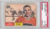 1968/69 O-Pee-Chee Hockey #93 John Miszuk PSA 8 (NM-MT) *7501