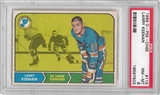 1968/69 O-Pee-Chee Hockey #115 Larry Keenan PSA 8 (NM-MT) *7503