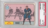 1968/69 O-Pee-Chee Hockey #126 Ron Ellis PSA 8 (NM-MT) *7505