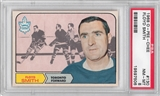 1968/69 O-Pee-Chee Hockey #130 Floyd Smith PSA 8 (NM-MT) *7506