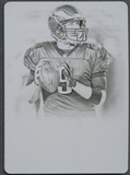 2013 Panini National Treasures #77 Nick Foles Printing Plate Cyan #1/1