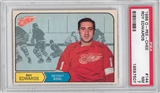 1968/69 O-Pee-Chee Hockey #144 Roy Edwards PSA 7 (NM) *7507