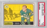 1968/69 O-Pee-Chee Hockey #148 Bill Goldsworthy PSA 7 (NM) *7382