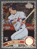 2011 Topps Update #US175 Mike Trout Diamond Anniversary Rookie