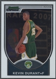 2007/08 Bowman Chrome #111 Kevin Durant Rookie #1728/2999