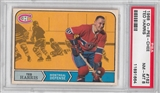 1968/69 O-Pee-Chee Hockey #162 Ted Harris PSA 8 (NM-MT) *1664