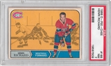 1968/69 O-Pee-Chee Hockey #165 Henri Richard PSA 7 (NM) *7509