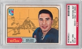 1968/69 O-Pee-Chee Hockey #172 Jim Neilson PSA 8 (NM-MT) *0828