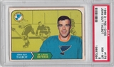1968/69 O-Pee-Chee Hockey #179 Jean Guy Talbot PSA 8 (NM-MT) *7394