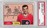 1968/69 O-Pee-Chee Hockey #184 Andre Lacroix PSA 7 (NM) *7511