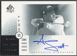 2001 SP Authentic #AS Adam Scott Sign of the Times Rookie Auto