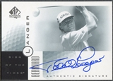 2001 SP Authentic #BL Bernhard Langer Sign of the Times Auto