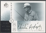 2001 SP Authentic #CR Chi Chi Rodriguez Sign of the Times Auto (Faded)