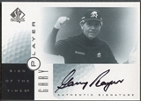 2001 SP Authentic #GP Gary Player Sign of the Times Auto