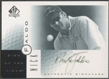 2001 SP Authentic #NF Nick Faldo Sign of the Times Auto (Faded) SP