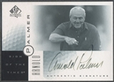 2001 SP Authentic #AP Arnold Palmer Sign of the Times Auto (Faded) SP