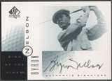 2001 SP Authentic #BN Byron Nelson Sign of the Times Auto (Faded)