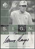 2002 SP Authentic #GP Gary Player Sign of the Times Auto SP