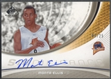 2005/06 SP Game Used #ME Monta Ellis SIGnificance Rookie Auto #06/25