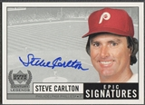 1999 Upper Deck Century Legends #SC Steve Carlton Epic Signatures Auto