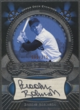 2004 Upper Deck Etchings #BR Brooks Robinson Etched in Time Black Auto #363/375