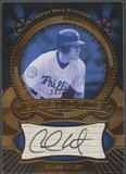 2004 Upper Deck Etchings #CU Chase Utley Etched in Time Black Auto #083/375