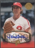 2004 UD Legends Timeless Teams #197 Steve Carlton Gold Auto #1/5