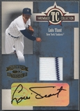 2005 Throwback Threads #27 Luis Tiant Throwback Collection Signature Jersey Auto #48/50