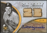 2006 Ultimate Collection #BM Bill Mazeroski Game Materials Signatures Bat Auto #13/35