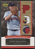 2007 Upper Deck Premier #CS Curt Schilling Triple Gold Patch #14/38
