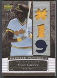 2007 Upper Deck Premier #TG Tony Gwynn Triple Patch #14/82