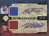 2005 Ultimate Collection #ZO Carlos Zambrano & Roy Oswalt Dual Materials Signature Jersey Auto #10/10