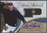 2006 Ultimate Collection #AB A.J. Burnett Game Materials Signatures Jersey Auto #34/35