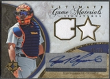 2006 Ultimate Collection #IR Ivan Rodriguez Game Materials Signatures Jersey Auto #05/35